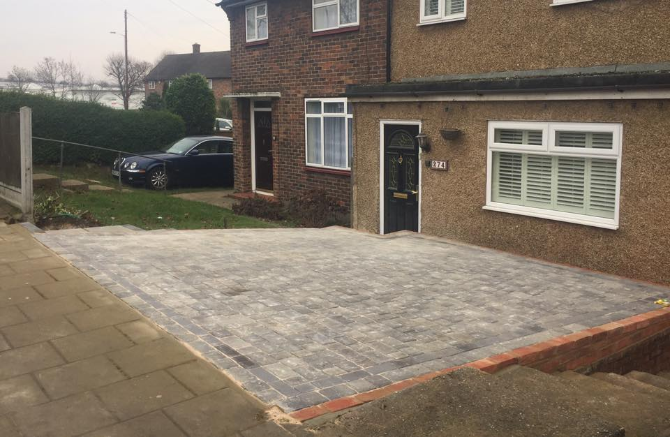 Replacement Driveway Revamp Romford Essex