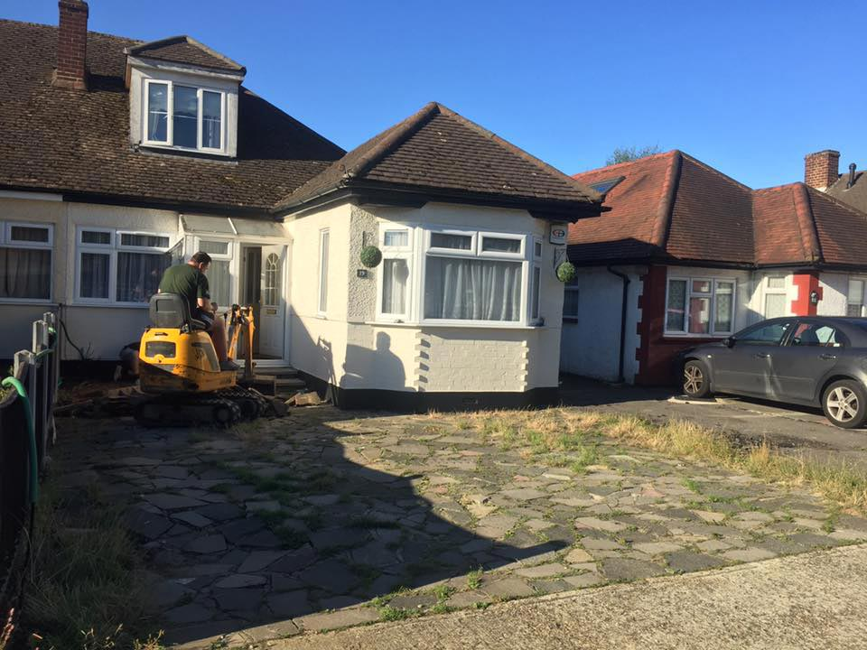 Old Driveway Transformed in Essex