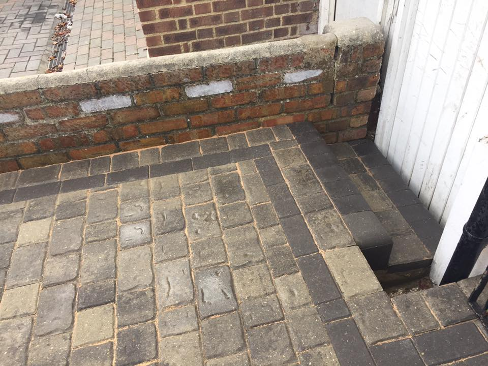 Block Paved Steps Essex