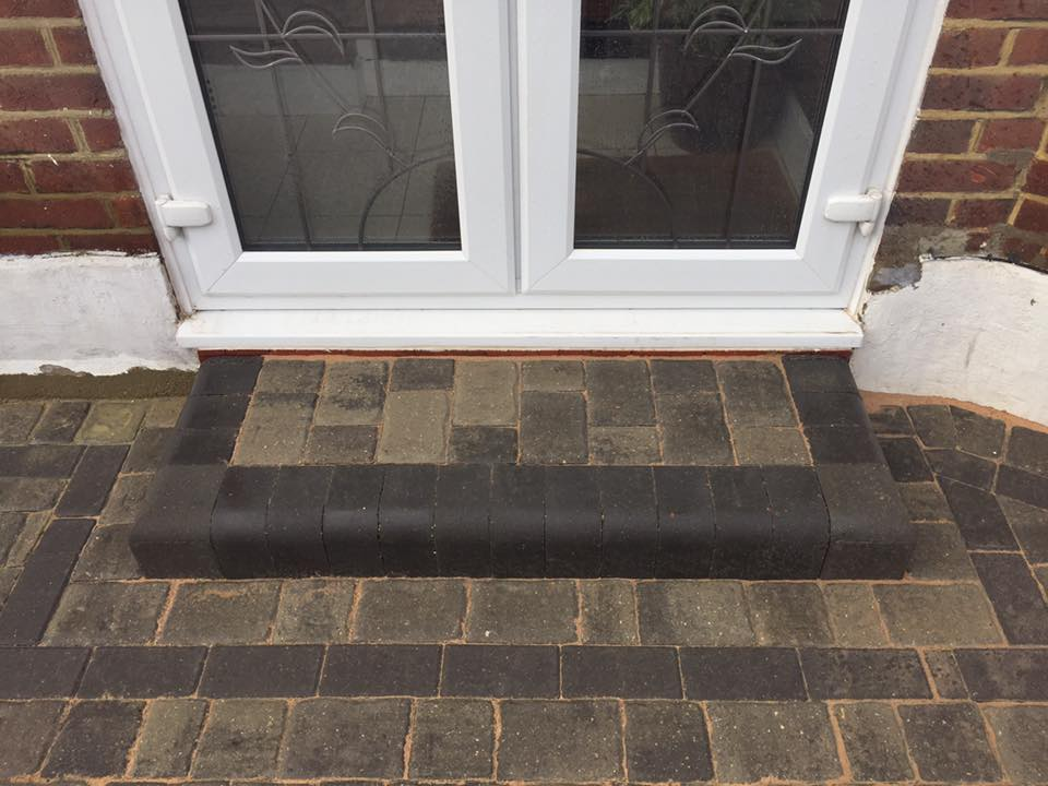 Block Paved Steps Essex Driveways