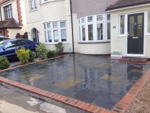 Indian Sandstone Driveways Essex