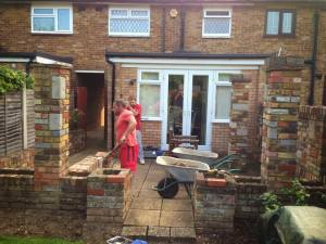 Old Patio Removal Romford Essex